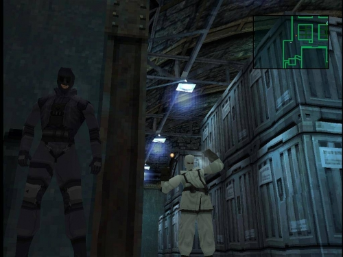 Metal Gear Solid (E) (Disc 1) ISO < PSX ISOs | Emuparadise