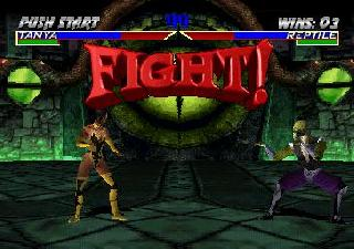Screenshot Thumbnail / Media File 1 for Mortal Kombat 4 (E)