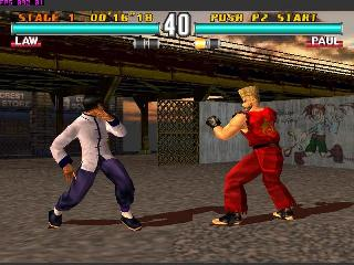 Screenshot Thumbnail / Media File 1 for Tekken 3 (E) (Alt)