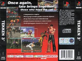Screenshot Thumbnail / Media File 1 for Tekken 3 (E)