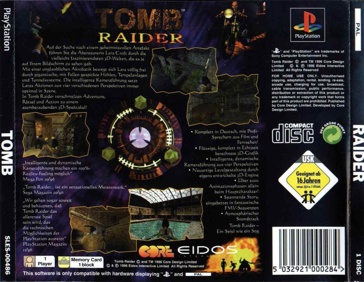 Tomb Raider G Edc Iso Psx Isos Emuparadise