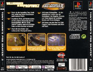 Screenshot Thumbnail / Media File 1 for Tony Hawk's Pro Skater 3 (G)