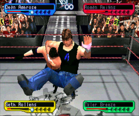 WWF SmackDown! 2 - Know Your Role (E) ISO < PSX ISOs