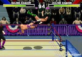 Screenshot Thumbnail / Media File 1 for WWF Wrestlemania - The Arcade Game (E)