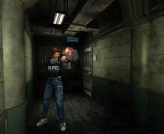 Screenshot Thumbnail / Media File 1 for Resident Evil 2 (E) (Disc 1) (Leon Disc)