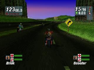Screenshot Thumbnail / Media File 1 for Road Rash - Jailbreak (E)