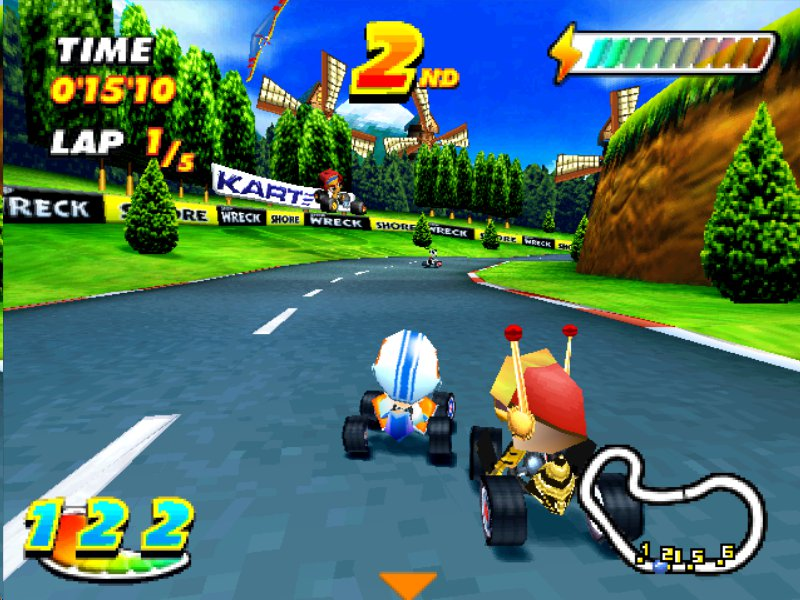 speed freaks ps1
