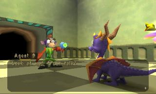 Screenshot Thumbnail / Media File 1 for Spyro - Year of the Dragon (E)