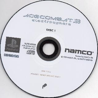 Screenshot Thumbnail / Media File 1 for Ace Combat 3 - Electrosphere (J) (v1.0) (Disc 1)