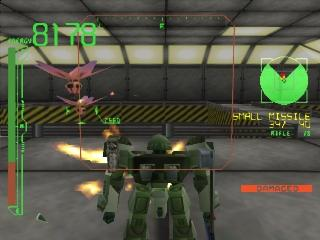 Screenshot Thumbnail / Media File 1 for Armored Core - Project Phantasma (J) (v1.0)