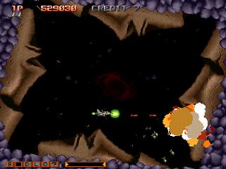 Screenshot Thumbnail / Media File 1 for Gradius Gaiden (J) (v1.0)