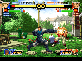 Screenshot Thumbnail / Media File 1 for The King of Fighters '99 (Japan)