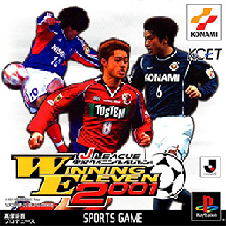Screenshot Thumbnail / Media File 1 for Winning Eleven J League Jikkyou Winning Eleven 2001 (Japan)