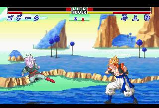 Screenshot Thumbnail / Media File 1 for Dragon Ball Z Shinbuthoden (J)