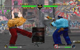 Screenshot Thumbnail / Media File 1 for Final Fight Revenge (J)