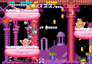 Screenshot Thumbnail / Media File 1 for Sexy Parodius (J)