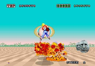 Screenshot Thumbnail / Media File 1 for Space Harrier (J)