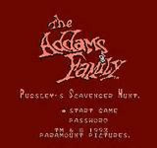 Screenshot Thumbnail / Media File 1 for Addams Family, The - Pugsley's Scavenger Hunt (Europe)