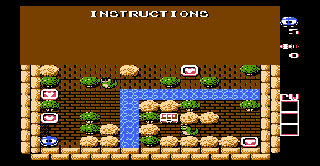 Screenshot Thumbnail / Media File 1 for Adventures of Lolo 2 (Europe)