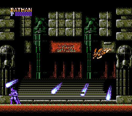 Batman NES Gameplay