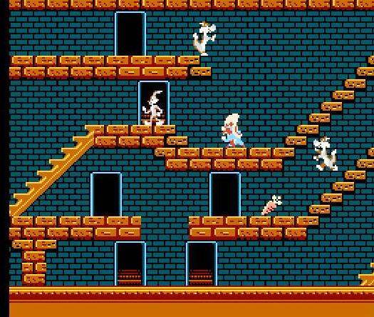 [Jeux Vidéos] Vos jeux vidéos Disney - Page 3 54994-Bugs_Bunny_Crazy_Castle,_The_(USA)-2