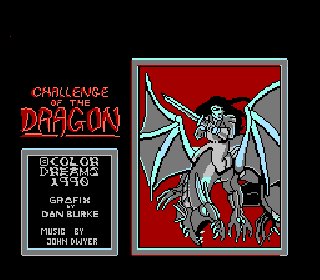 Screenshot Thumbnail / Media File 1 for Challenge of the Dragon (USA) (Unl) (Color Dreams)