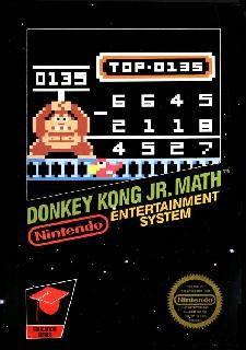 Screenshot Thumbnail / Media File 1 for Donkey Kong Jr. Math (USA, Europe)