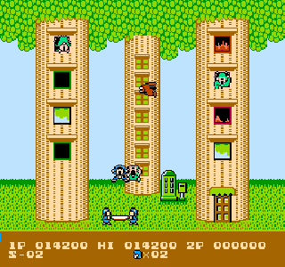 Screenshot Thumbnail / Media File 1 for Flying Hero (Japan)