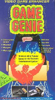 Screenshot Thumbnail / Media File 1 for Game Genie (USA) (Unl)