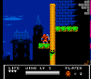 Screenshot Thumbnail / Media File 1 for Gargoyle's Quest II - The Demon Darkness (Europe)
