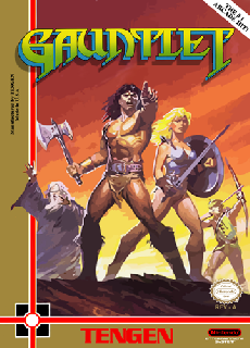 Screenshot Thumbnail / Media File 1 for Gauntlet (USA)