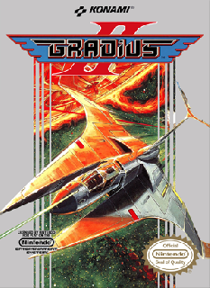 Screenshot Thumbnail / Media File 1 for Gradius II (Japan)