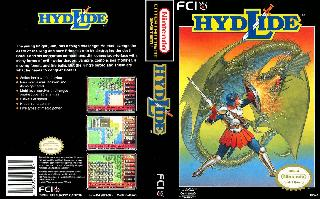 Screenshot Thumbnail / Media File 1 for Hydlide (USA)