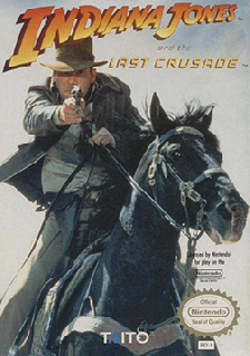Screenshot Thumbnail / Media File 1 for Indiana Jones and the Last Crusade (USA) (Taito)