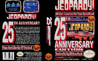 Screenshot Thumbnail / Media File 1 for Jeopardy! 25th Anniversary Edition (USA)