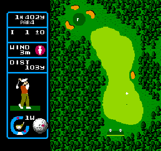 Screenshot Thumbnail / Media File 1 for Jumbo Ozaki no Hole in One Professional (Japan)
