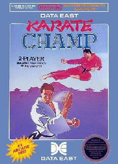 Screenshot Thumbnail / Media File 1 for Karate Champ (USA)