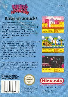 Screenshot Thumbnail / Media File 1 for Kirby's Adventure (Germany)