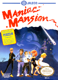 Screenshot Thumbnail / Media File 1 for Maniac Mansion (USA)