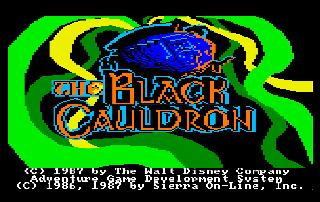 Screenshot Thumbnail / Media File 1 for Black Cauldron, The