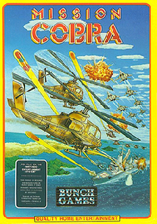Screenshot Thumbnail / Media File 1 for Mission Cobra (USA) (Unl)