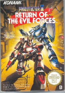 Screenshot Thumbnail / Media File 1 for Probotector II - Return of the Evil Forces (Europe)