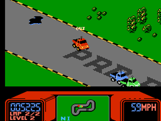 56678 R.C._Pro Am_(USA) 1461100732 r c pro am (usa) rom \u003c nes roms emuparadise Rad Racer NES at n-0.co