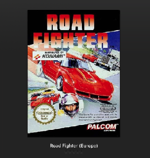 Screenshot Thumbnail / Media File 1 for Road Fighter (Europe)