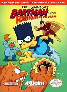 Screenshot Thumbnail / Media File 1 for Simpsons, The - Bartman Meets Radioactive Man (USA)