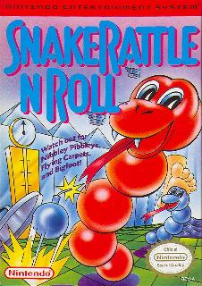 Screenshot Thumbnail / Media File 1 for Snake Rattle n Roll (USA)