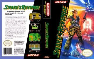 Screenshot Thumbnail / Media File 1 for Snake's Revenge (USA)