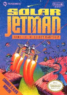 Screenshot Thumbnail / Media File 1 for Solar Jetman - Hunt for the Golden Warpship (USA)