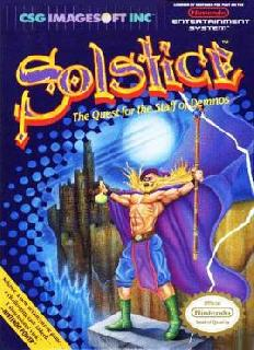 Screenshot Thumbnail / Media File 1 for Solstice - The Quest for the Staff of Demnos (USA)