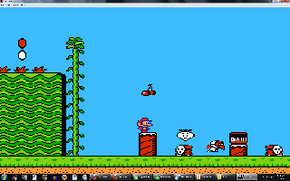 Screenshot Thumbnail / Media File 1 for Super Mario Bros. 2 (USA) (Beta)